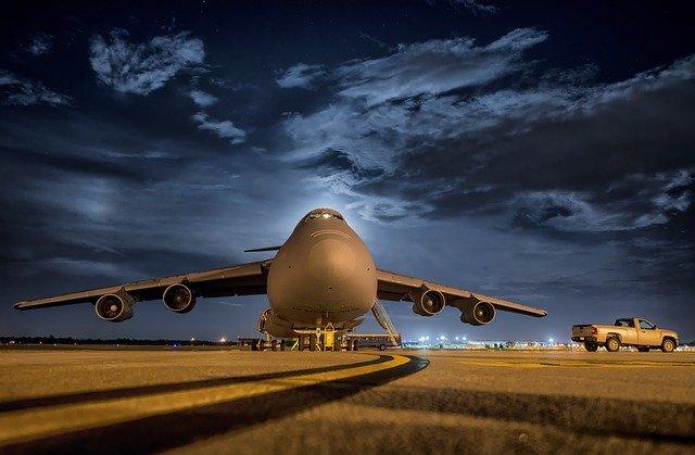 podróż samolotem